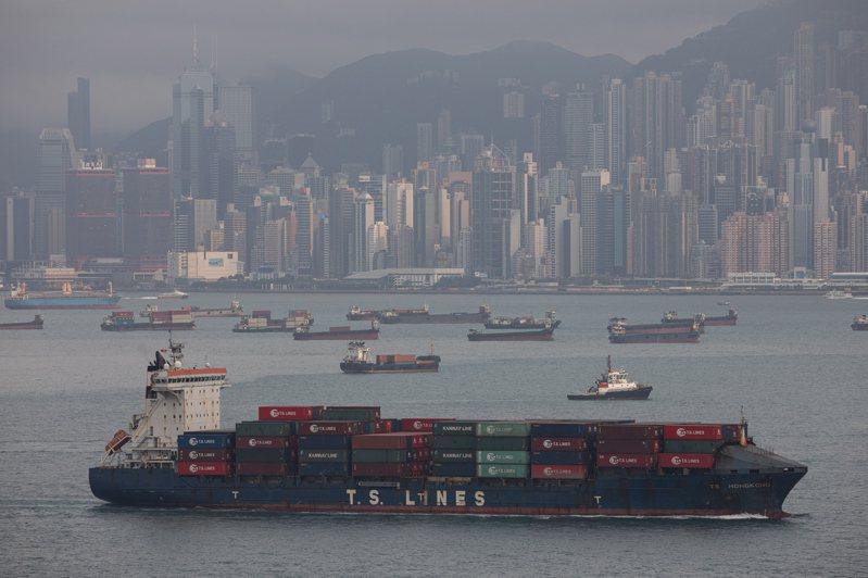 香港今年首季的生產毛額(GDP)較去年同期實質上升7.8%。 歐新社