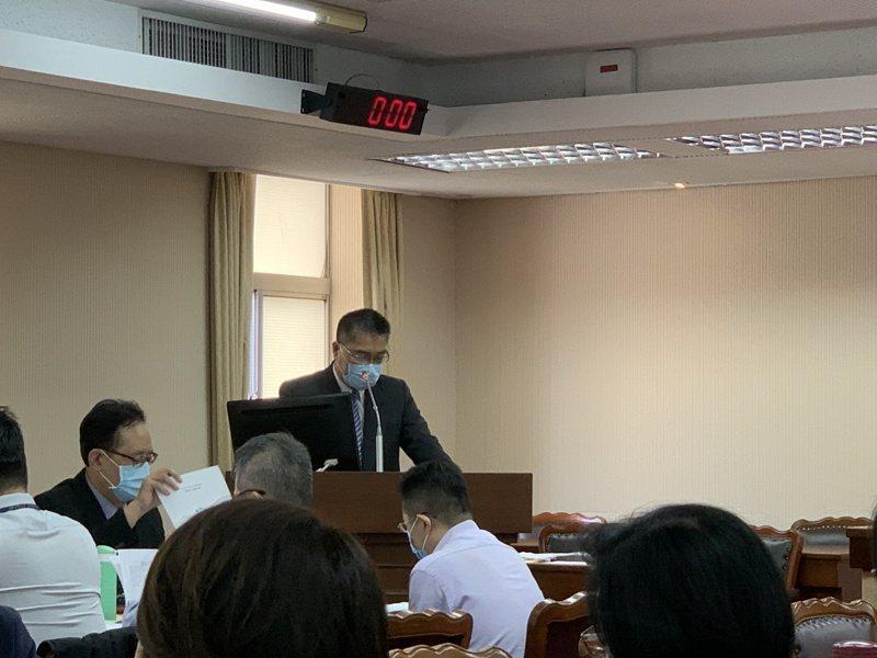 內政部長徐國勇。記者鄭媁/攝影