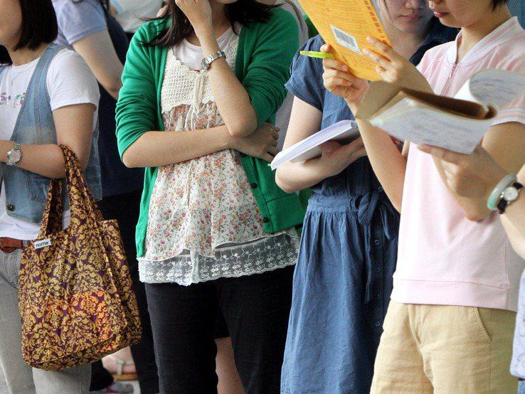台北市教育局今年國中教師聯合甄選,60個雙語教師缺,幾乎全數開在藝術、體育等藝能科。本圖為示意圖。圖/聯合報系資料照片