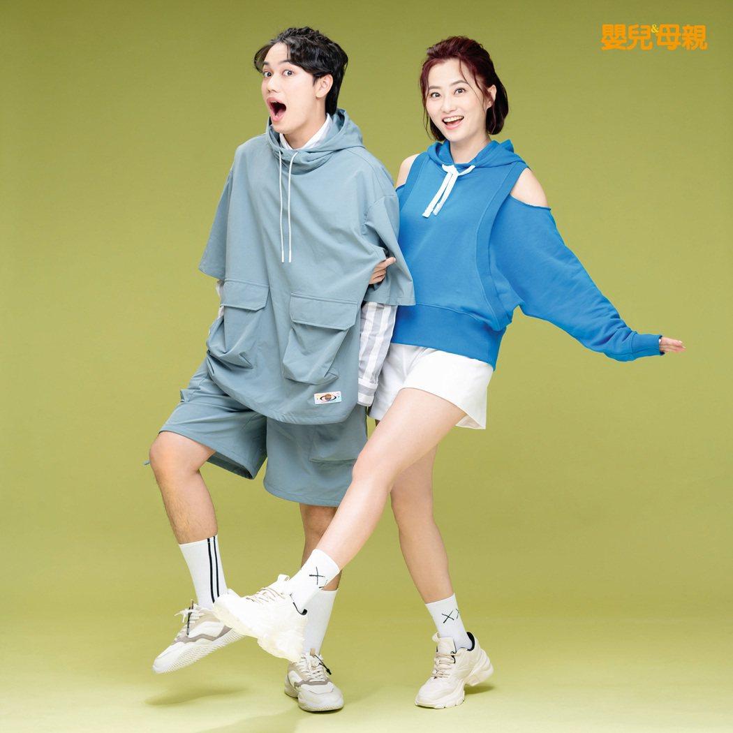 趙小僑(右)和兒子劉子銓感情好互動甜蜜。圖/嬰兒與母親雜誌提供