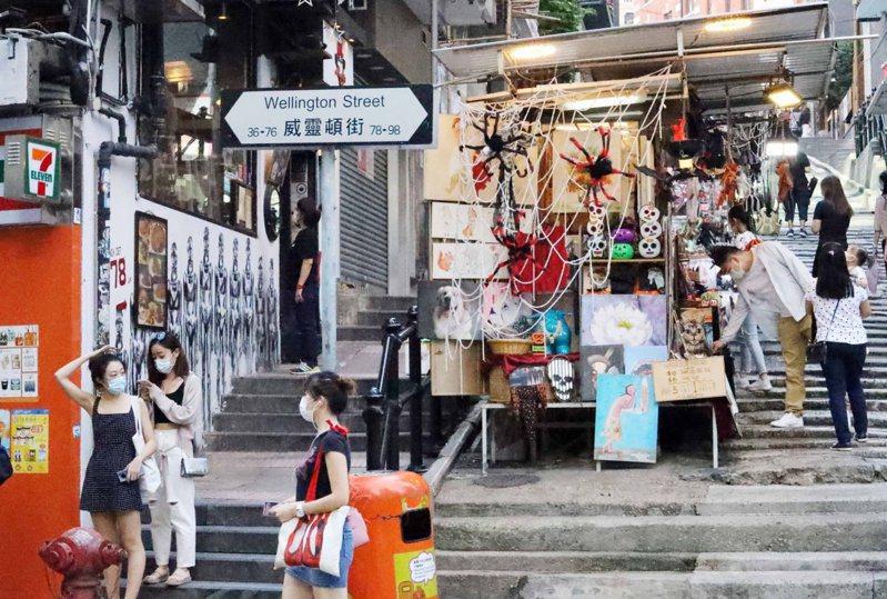 香港政府3日公布的預估數字指出,第一季香港GDP年增7.8%。(圖/取自中新社)