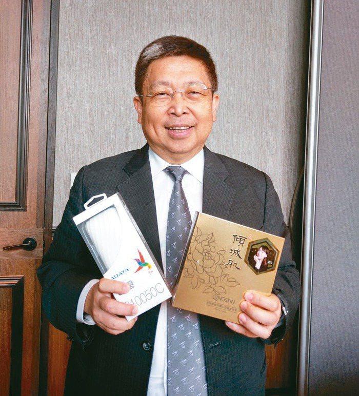 威剛董事長陳立白。(本報系資料庫)