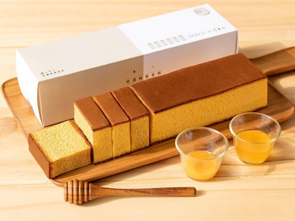 PEKOE特濃蜂蜜蛋糕。圖/PEKOE食品雜貨舖提供
