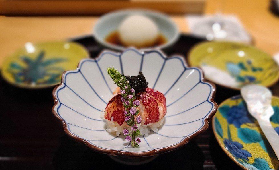 頂級天婦羅餐廳「牡丹 天ぷら」擁有多年日本料理經驗。圖/梁旅珠提供