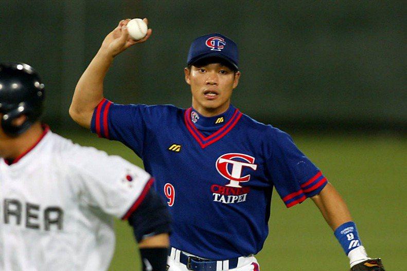 陳瑞振上回穿上中華隊球衣已是當球員時期。 聯合報系資料照