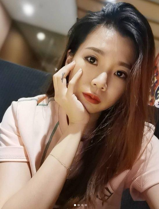 大馬羽球女神吳柳瑩在IG上偶有美照。 截圖自IG