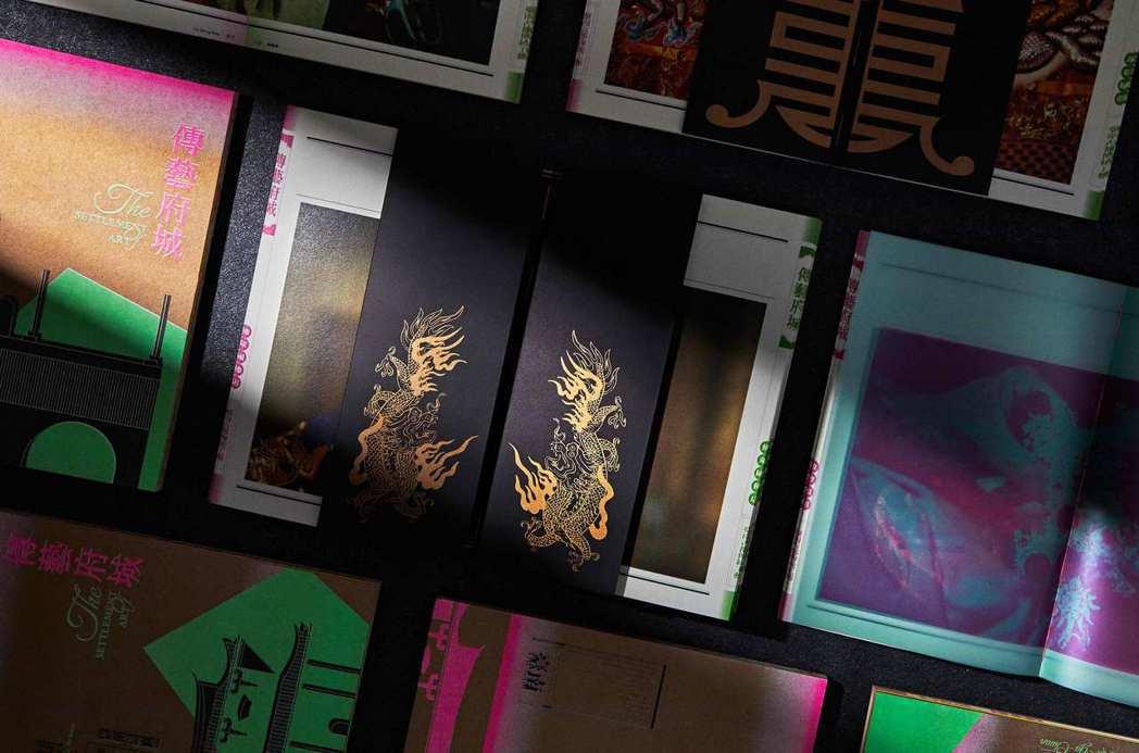 展覽運用「仁美商標」織造技術,將源自府城生活中的神祉信仰及其背後的造神工藝為靈感...