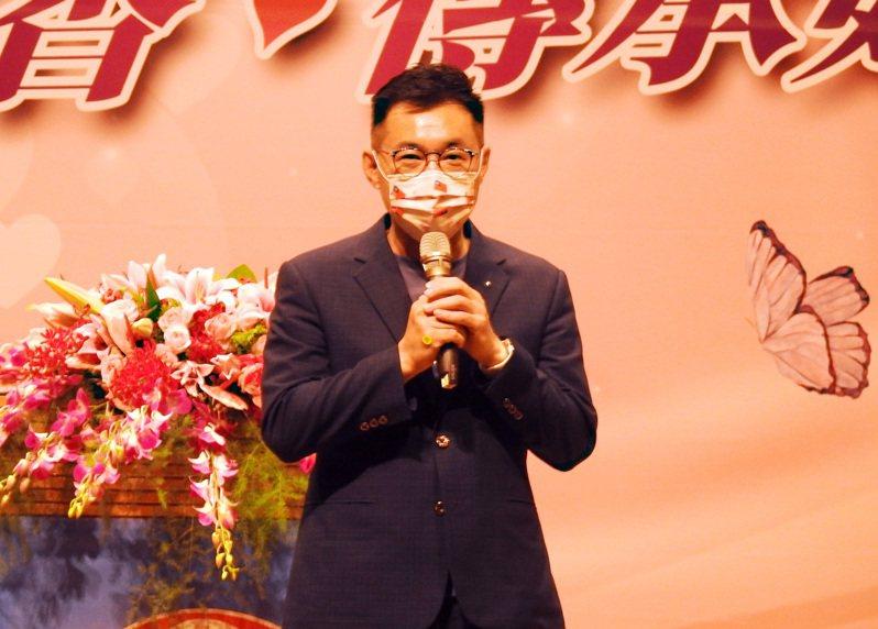 對國民黨主席江啟臣。中央社