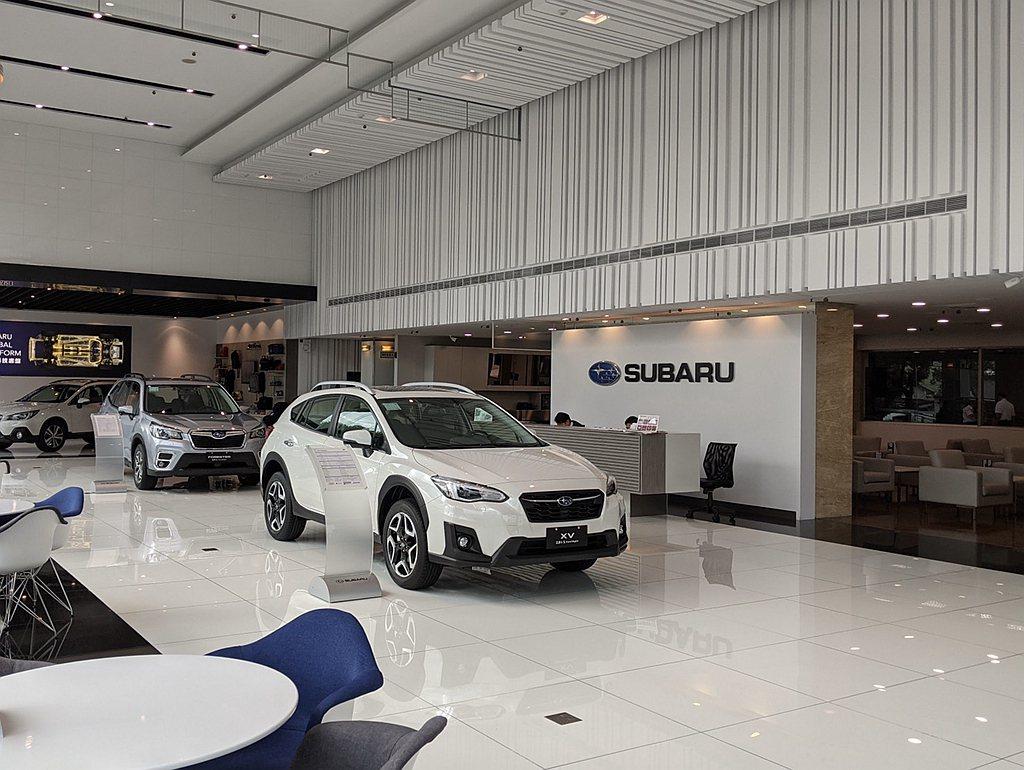 Subaru台中冠慶展示暨售後服務中心佔地總面積逾1,200坪之廣,除了設有貴賓...