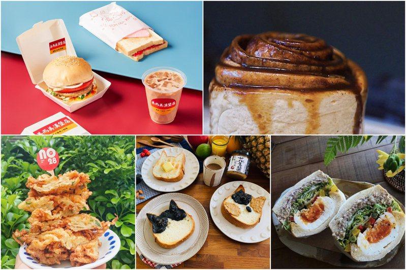 2021台南早餐生活節於水交社文化園區舉辦,民眾可在古蹟空間逛早餐市集。圖/2021台南早餐生活節臉書專頁
