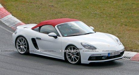 採用四缸的Porsche 718 Spyder 紐柏林賽道現身