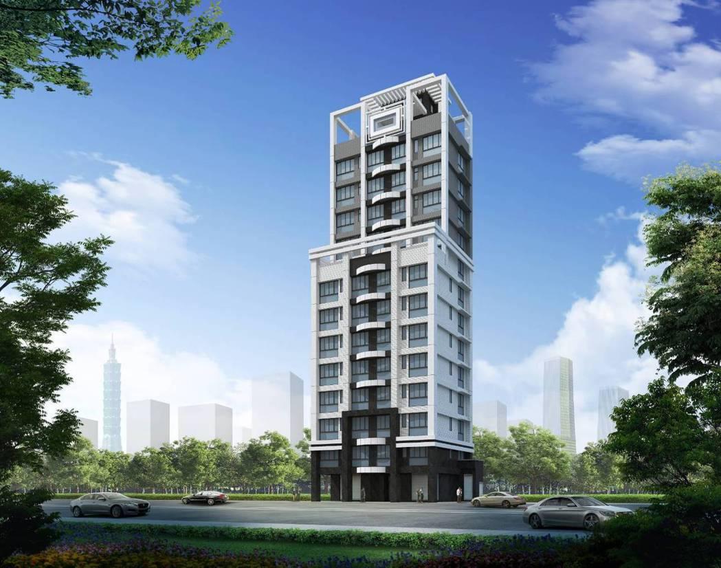 「智寶家合」,預計將打造出地上13層地下2層,共計24戶之智慧型住宅大樓。 業者...