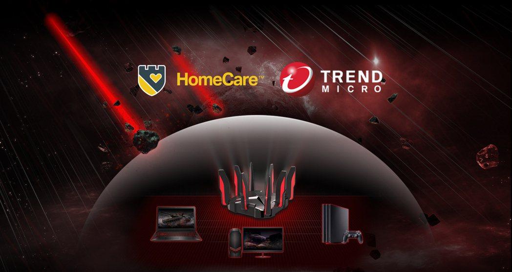 Archer GX90搭載與趨勢科技攜手打造的HomeCare遊戲防護技術,保障...