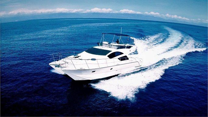 比麗堅號BiLiChien豪華遊艇讓人享受如帛琉美景。 比麗堅號/提供