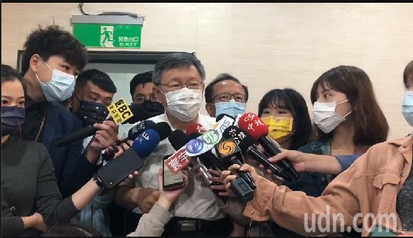 台北市長柯文哲今市政會議前受訪表示,對台北市政府來說,暴力事件絕對不被允許,會儘速抓到人,給社會一個交代。圖/北市媒體事務組提供
