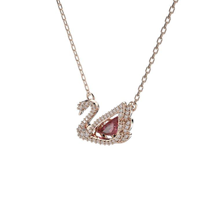 施華洛世奇Dancing Swan項鍊,5,490元。圖/施華洛世奇提供