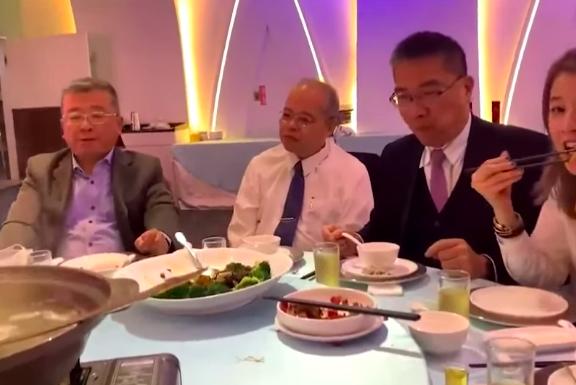 徐國勇、趙映光聚會影片曝光 同桌綠議員轟:別操作過頭