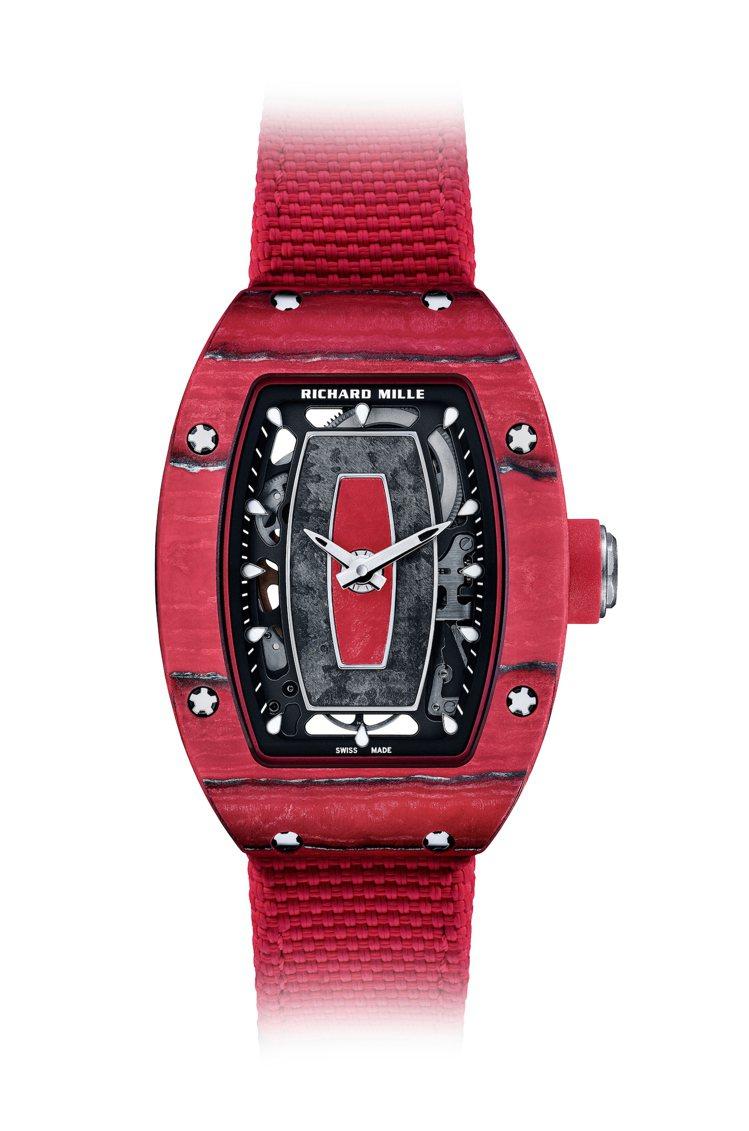 為了RICHARD MILLE車隊推出的RM 07-01 Racing Red腕...