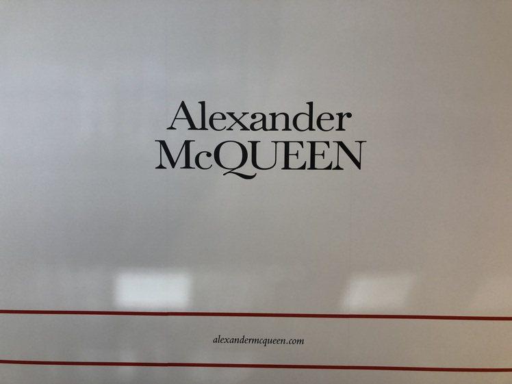 Alexander McQUEEN將於5月14日開幕。記者曾智緯/攝影