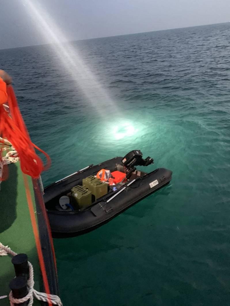 大陸男子駕駛軍用橡皮艇橫渡台灣海峽,直到台中港才被發現,引起外界擔心海防安全。圖/本報資料照片