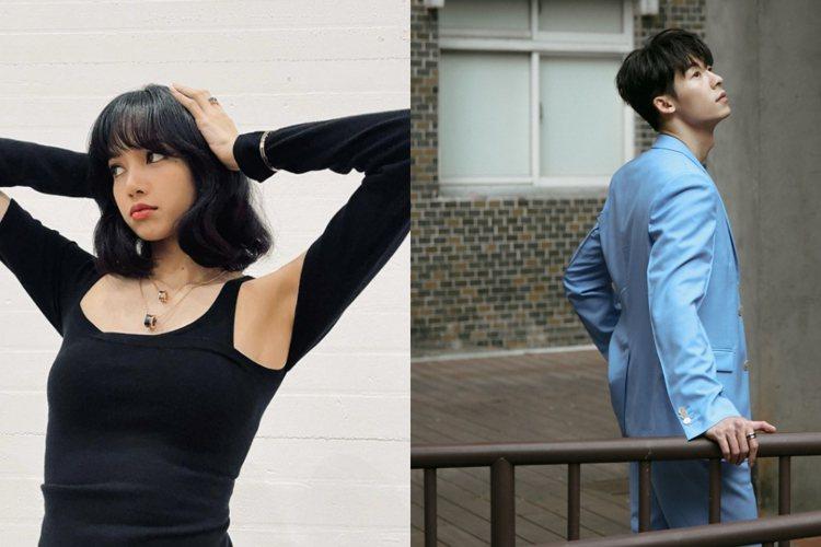 寶格麗品牌代言人Lisa與時尚明星許光和配戴寶格麗最新B.zero1系列珠寶。圖...