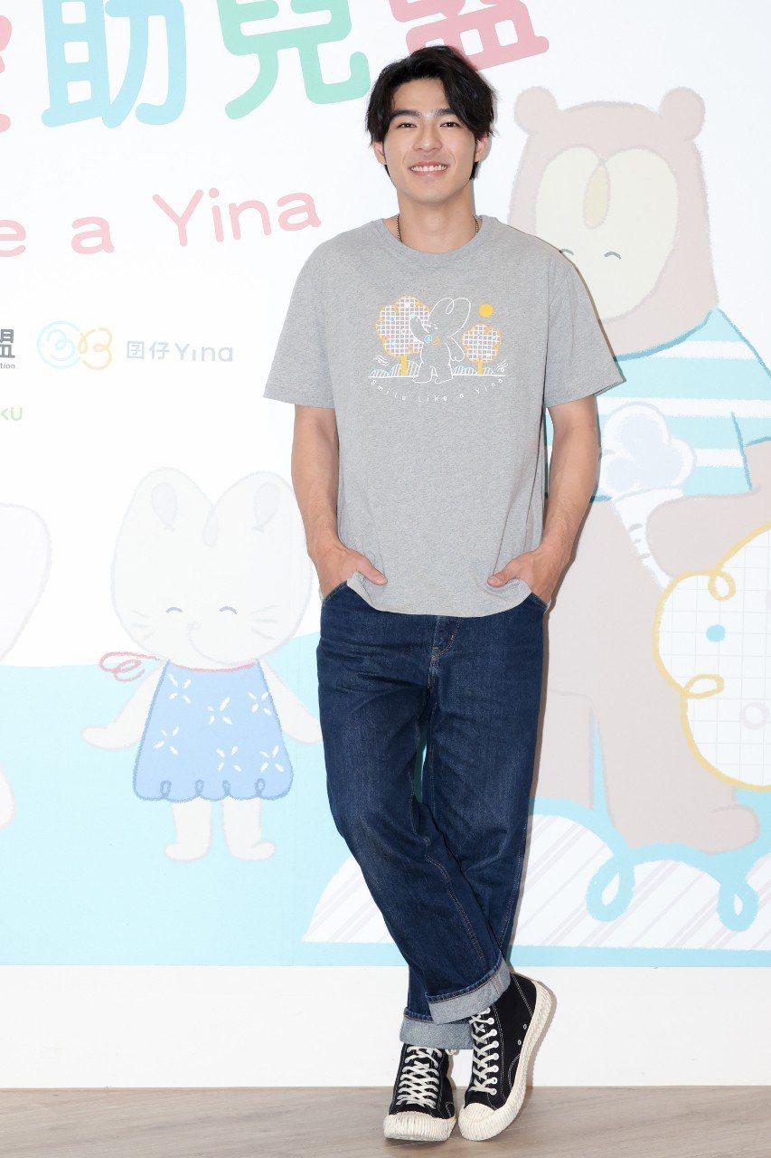 陳昊森已具備新手爸爸的才能。記者沈昱嘉/攝影