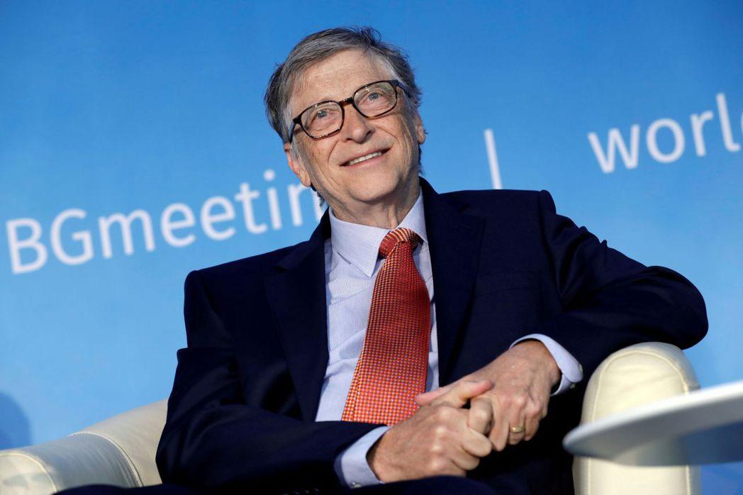 微軟創辦人比爾‧蓋茲富可敵國。路透