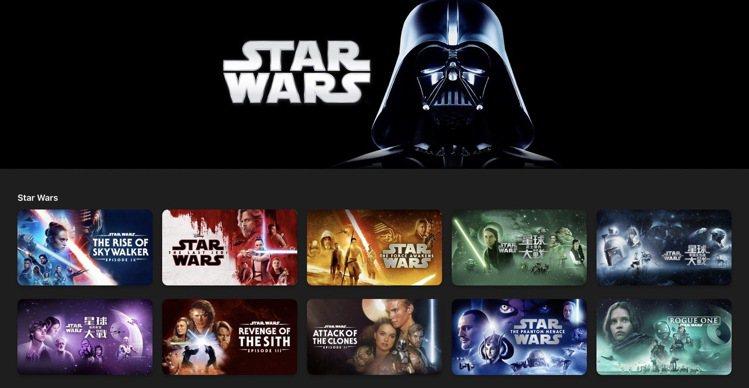 即日起至5月7日於Apple TV App中購買任何《星際大戰》系列電影都能享有...