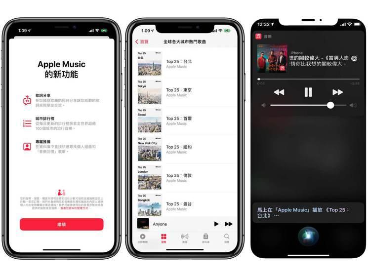 Apple Music的「城市排行榜」和數個全新功能隨著iOS 14.5向所有A...