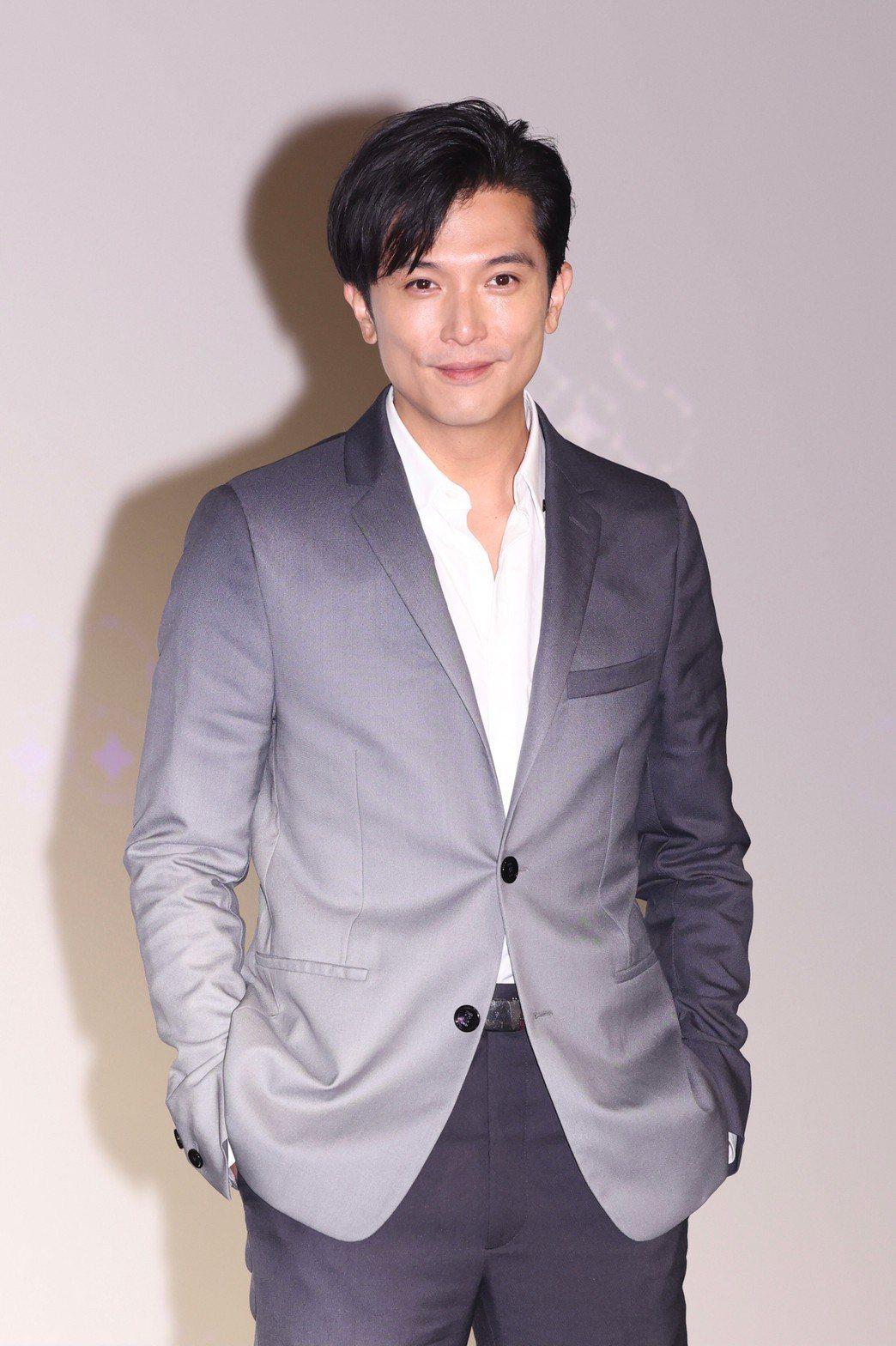 邱澤出席台北電影節形象大使記者會。記者王聰賢/攝影