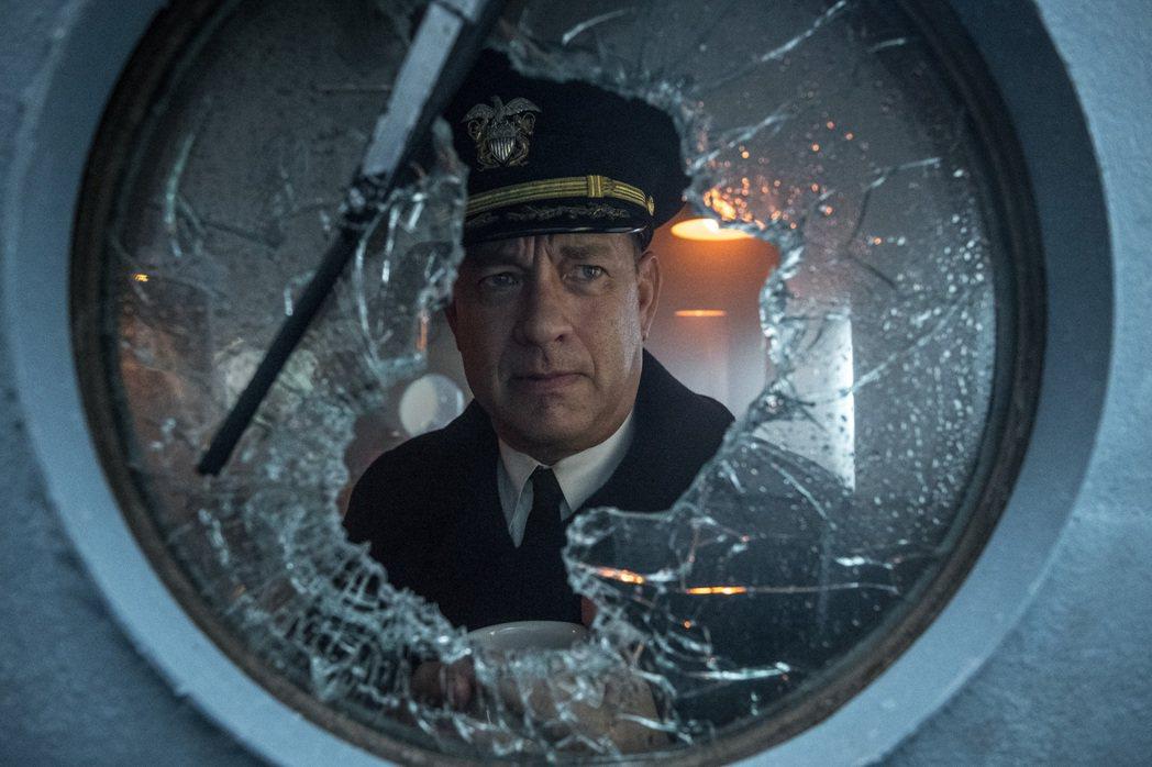 湯姆漢克斯去年才與Apple TV+合作「怒海戰艦」。圖/Apple TV+提供