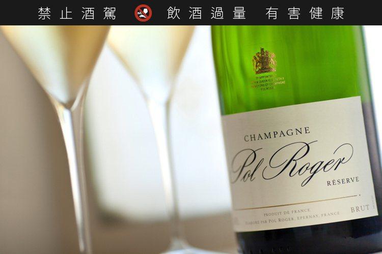 Pol Roger是前英國首相邱吉爾最喜歡的香檳。圖/酩洋提供。提醒您:禁止酒駕...