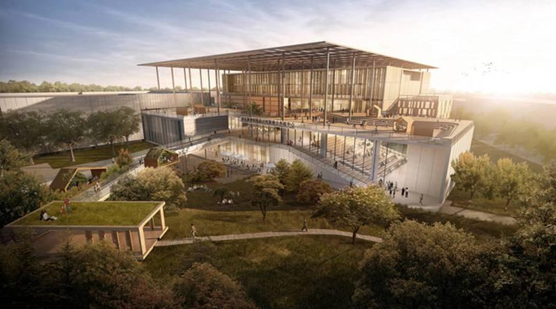 延宕多年的國家圖書館南部分館新建工程終於上網公告招標。示意圖/台南市政府提供