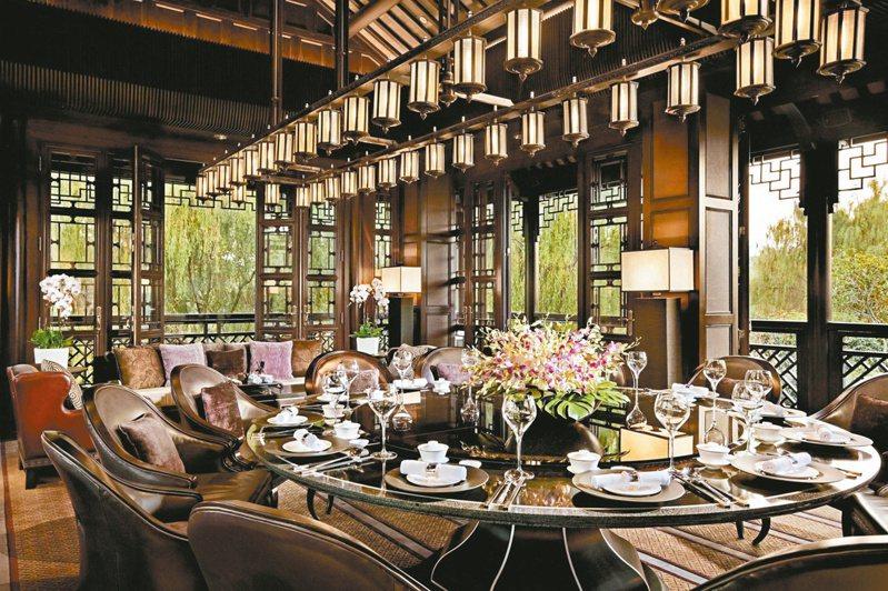 杭州四季酒店金沙廳。圖/張聰提供