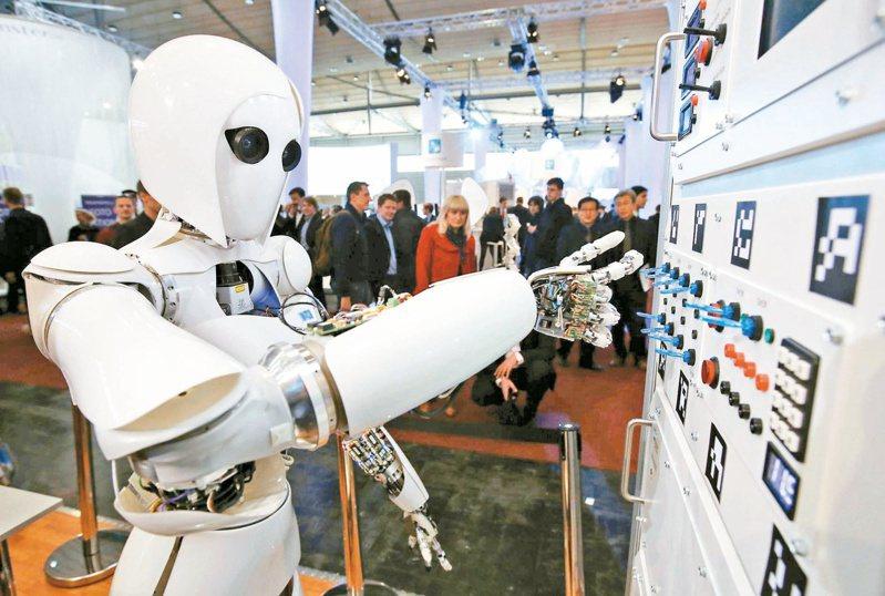 國發會調查發現,未來三年人工智慧應用服務產業對人才需求最迫切。本報資料照片