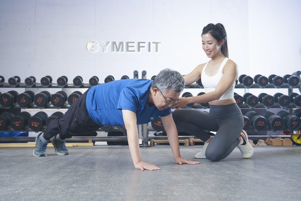 珍珍與爸爸訓練照 圖/采實文化 提供