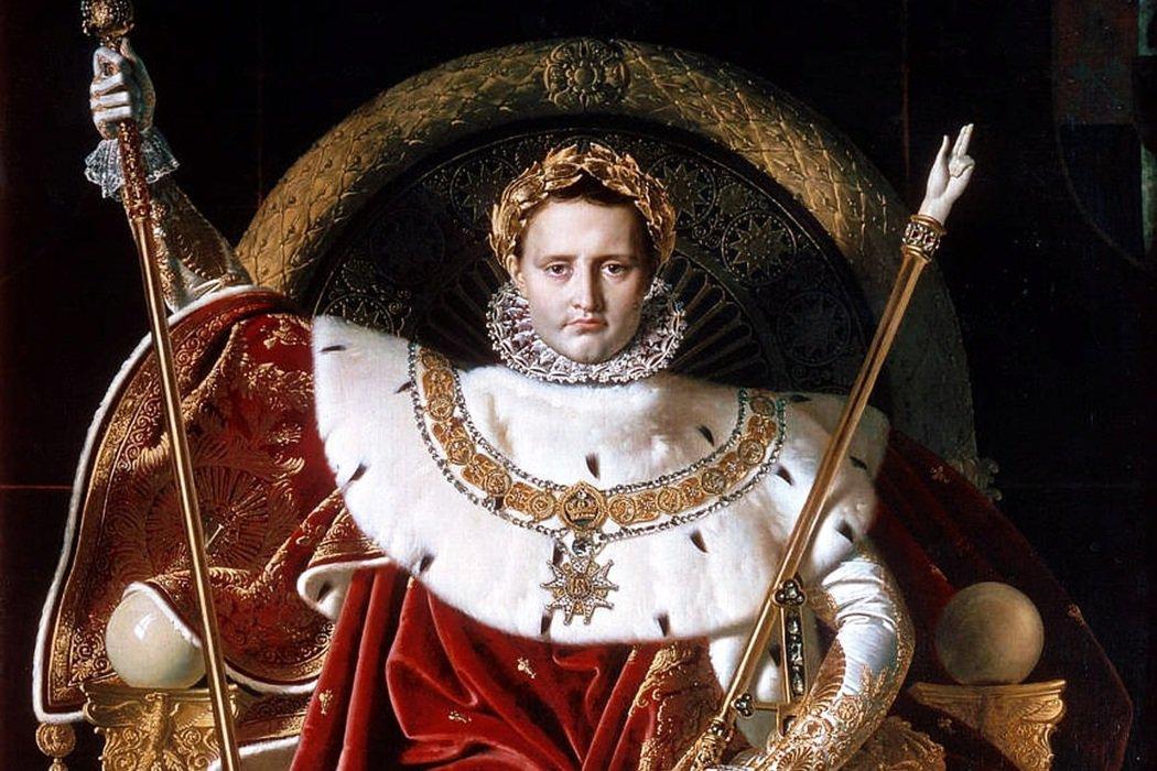 「拿破崙符號」之於法蘭西國家脈絡,有著強大的號召影響力。 圖/維基共享