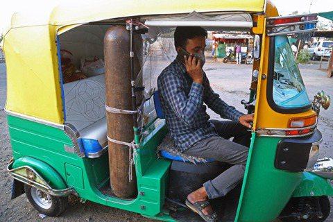 「我只是個嘟嘟車司機......」一名來自印度中央邦的嘟嘟車司機穆罕默德·賈維德...