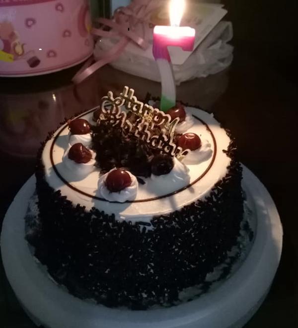 黑森林蛋糕。(圖/郁雲龍提供)