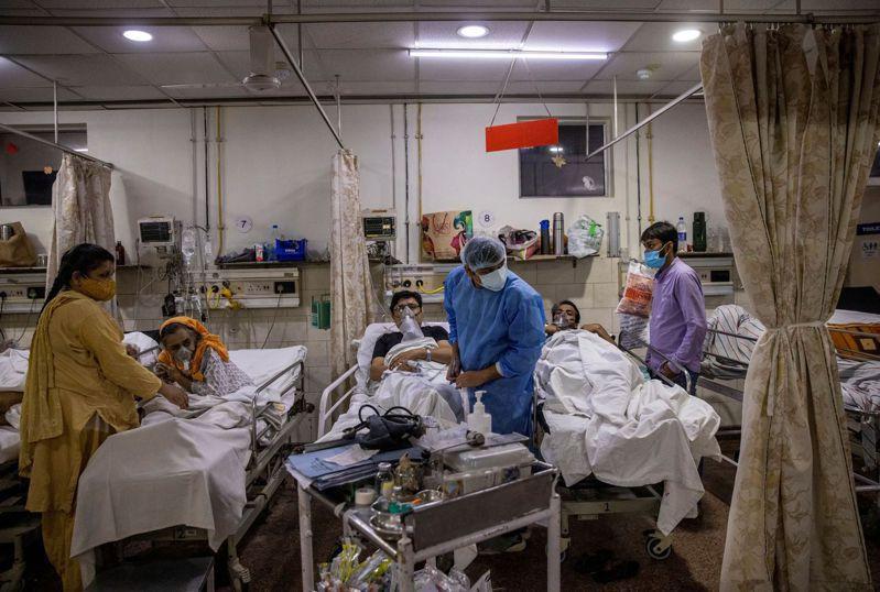 印度疫情持續惡化。 路透社