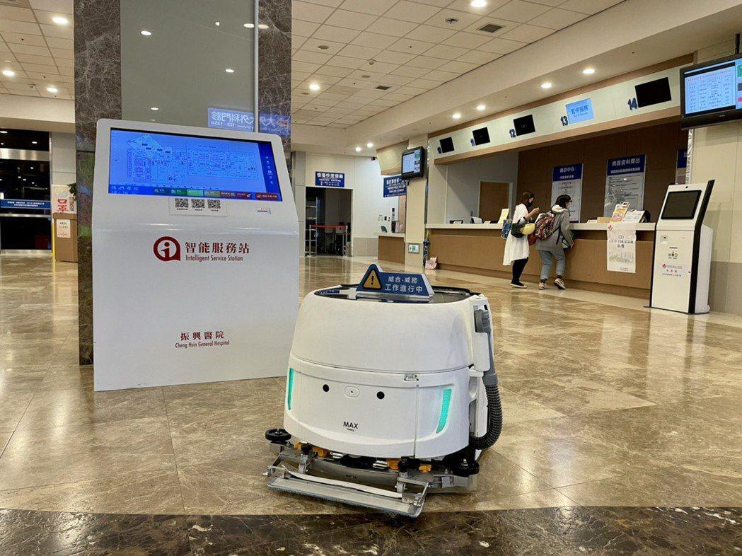 AI科技運用與振興醫院的智慧醫療方針不謀而合。威合威務/提供