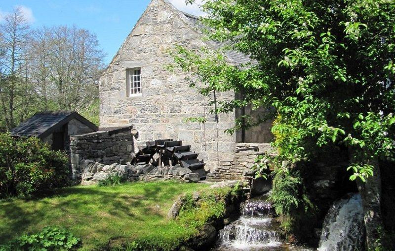 Tromie Mills Distillery, in Drumguish, K...