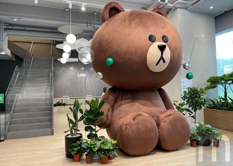 ▲LINE台灣新辦公室正式啟用