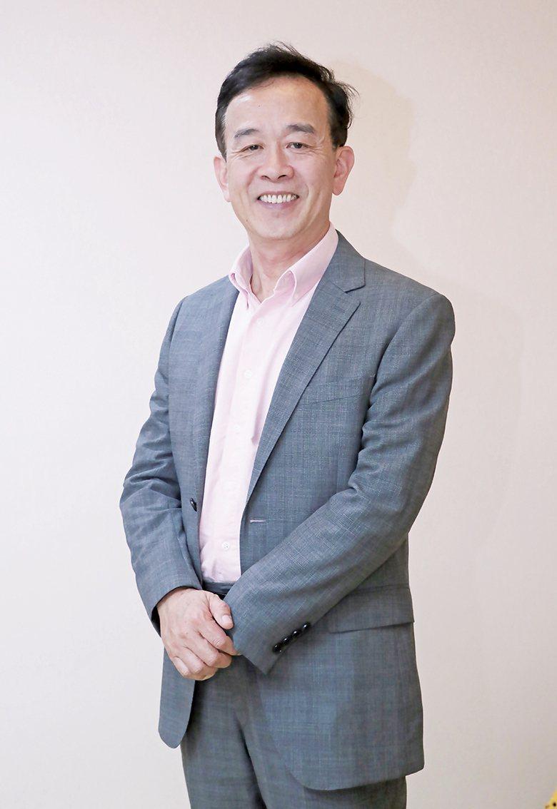 ▲星展銀行(台灣)企業及機構銀行董事總經理、有得電影公司執行長羅綸有。蕭硯駿攝影