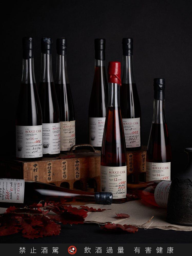 香港邦瀚斯拍品433為1990年代輕井澤—1995—胭脂紅桶藏酒(9瓶),估價1...