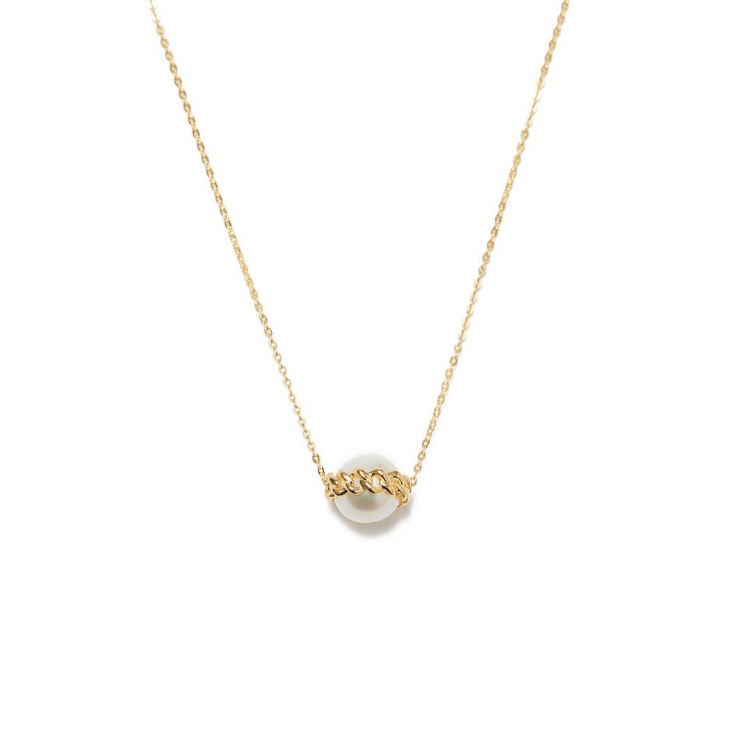 ARTISMI鍊結珍珠項鍊,定價9,900元,母親節檔期優惠價9,200元。圖/...