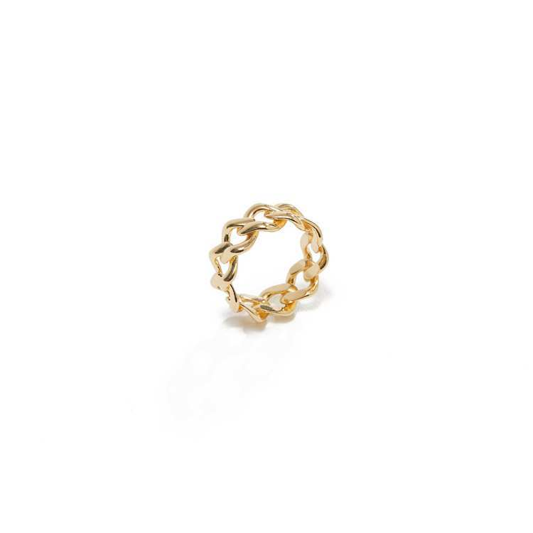 ARTISMI簡約鍊結戒指,定價3,500元,母親節檔期優惠價3,200元。圖/...