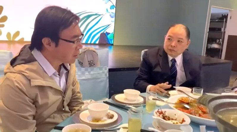 國民黨立院黨團3日在臉書上傳影片引發討論。圖/取自國民黨團臉書