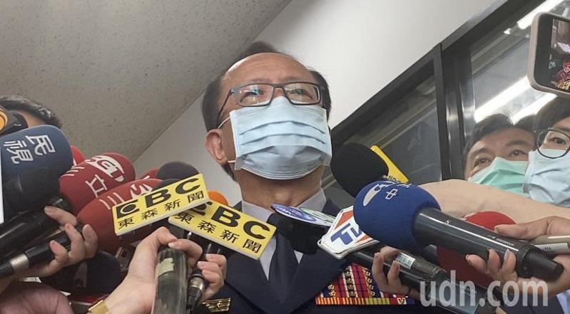 台北市警局長陳嘉昌親自向外界說明。記者蔡翼謙/攝影