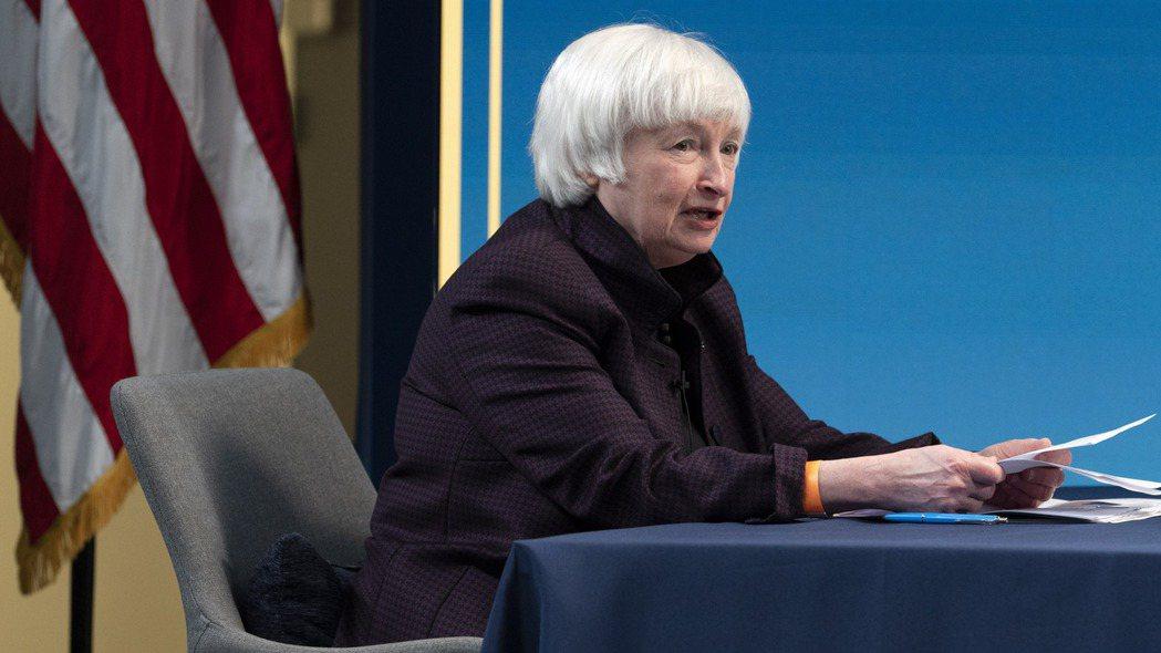 美國財政部長葉倫談論利率,嚇壞許多投資人。美聯社